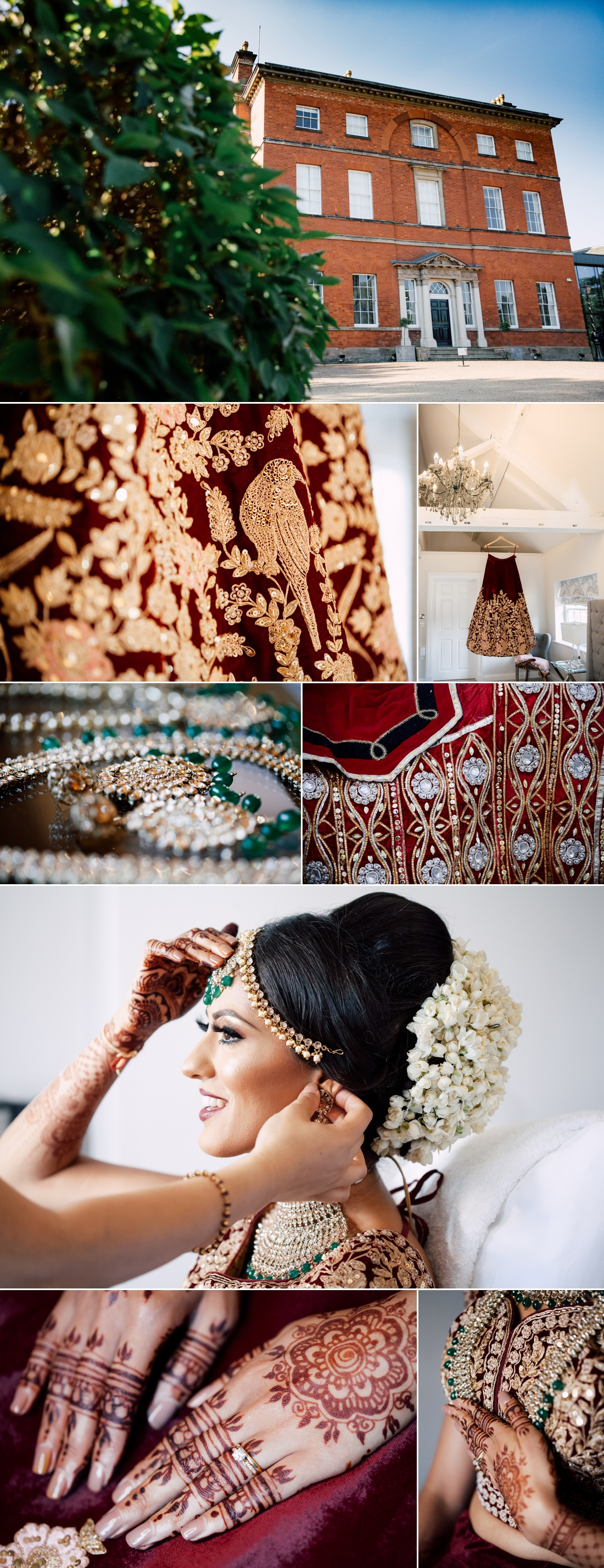 Indian wedding photography at winstanley house